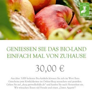 Gutschein zum Ausdrucken 30 €