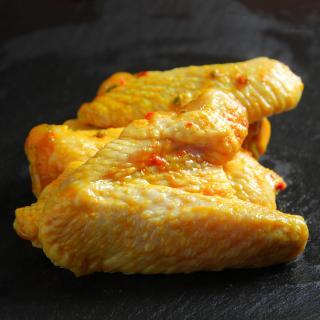 Hähnchenflügel Currymarinade  Stk ca. 300g