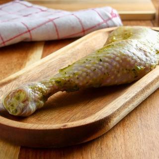 Hähnchenkeule Bärlauch ca. 250 g