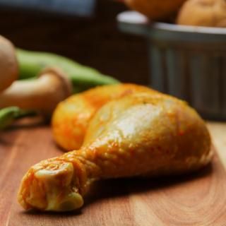 Hähnchenkeule Curry ca. 250 g