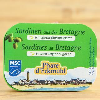 Sardinen mit Olivenöl++