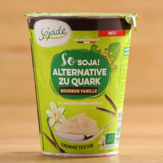 Soja Alternative zu Quark Vanille