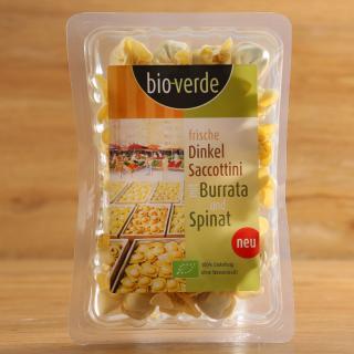 Dinkel Saccottini m. Burrata/Spinat