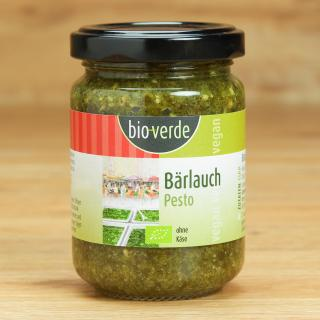 Pesto Bärlauch Bio-Verde 125 ml