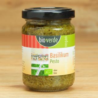 Pesto Basilikum Bio-Verde 125 ml