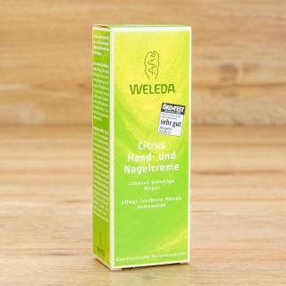 Citrus Hand- und Nagelcreme Weleda 50 ml