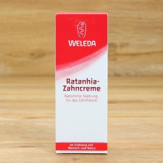 Ratanhia Zahncreme Weleda 75 ml