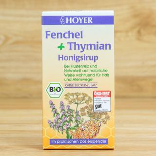 Honigsirup Fenchel & Thymian 250 ml
