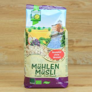Mühlen-Müsli Früchte 500 g