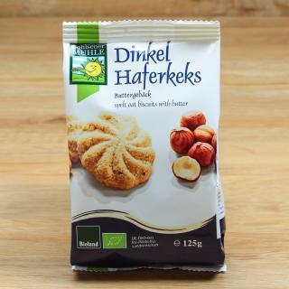 Dinkel-Hafer-Kekse 125 g
