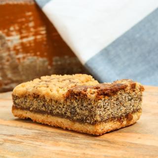 Mohnkuchen-Schnitte