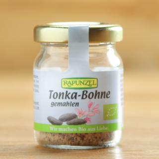 Tonka Bohne gemahlen
