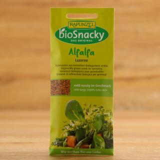 Alfalfa Luzerne Keimsaat für bio snacky