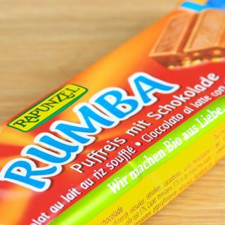 Rumba Puffreisriegel Vollmilch 50 g