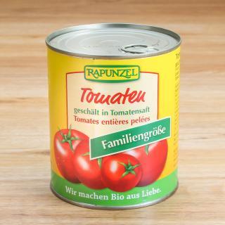 Tomaten, geschält Familiengröße