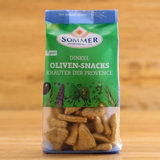 Dinkel-Olivensnacks Kräuter.d.Prov.150 g