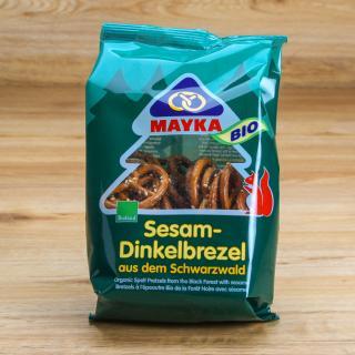 Dinkelbrezeln mit Sesam, klein 125 g