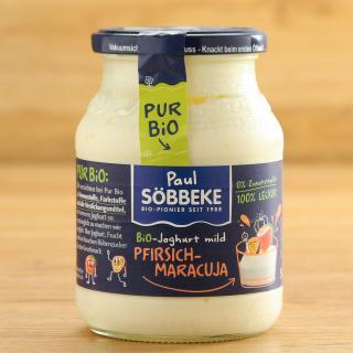 Joghurt Pur Bio Pfirsich-Maracuja 3,8%