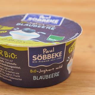 Joghurt Pur Bio Blaubeere 3,8%