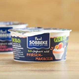 Joghurt pur Pfirsich-Maracuja 3,8%
