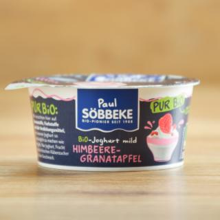 Joghurt pur  Himbeer-Granatapfel 3,8%