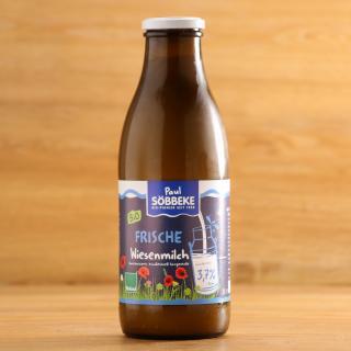 Wiesenmilch Söbbeke 3,7 % 1 l