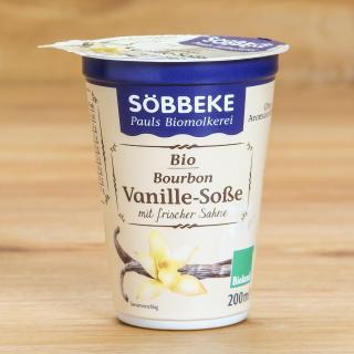 Vanillesoße mit Sahne 200 g