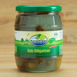 Salz Dillgurken 580 ml