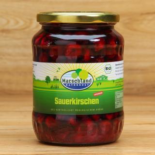 Sauerkirschen im Glas 680 ml