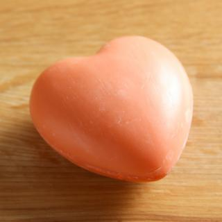 Herzseife rot 65 g