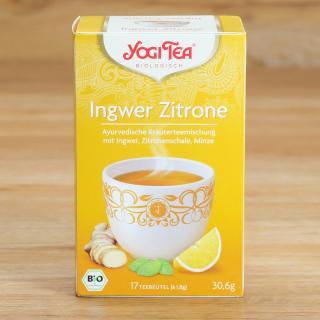Yogi Tea Ingwer Zitrone 17 Tb