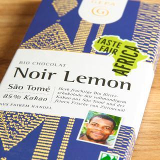 Bitterschokolade 85% Lemon