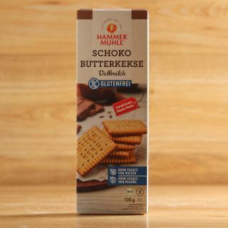 Butterkekse mit Vollmilchschokolade