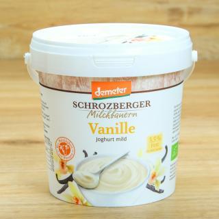 Joghurt Vanille  3,5 % 1 kg