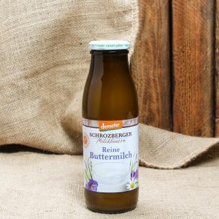 Buttermilch Flasche 0,5 l