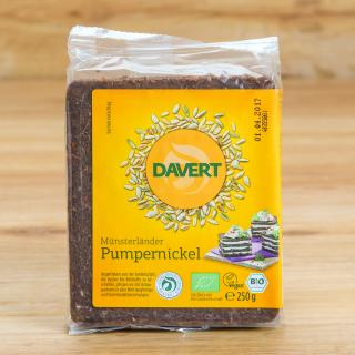 Pumpernickel Davert 250 g
