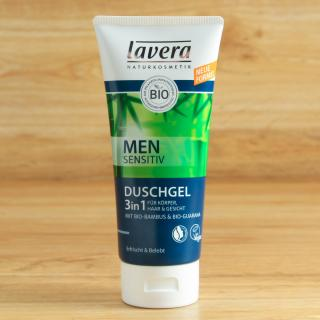 Men 3 in 1 Dusch-Shampoo Lavera 200 ml