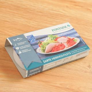 Heringsfilet in Tomatensauce  200 g++