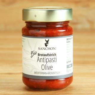 Antipasti Olive Brotaufstrich
