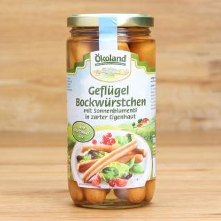 Geflügel Bockwürstchen im Glas 6 Stk.