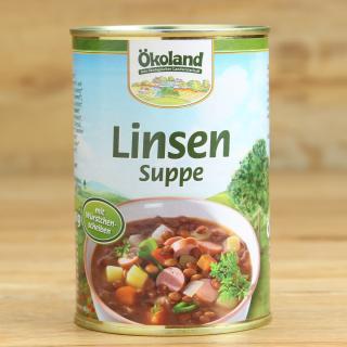 Linsensuppe mit Würstchen 400 ml
