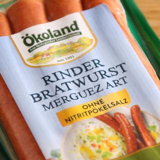 Rinder-Bratwurst Merguez Art (4 Stk.) 200 g