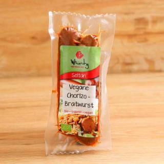 Chorizo Bratwurst vegan 2 Stk 130 g