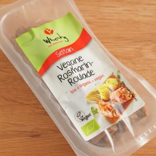Vegane Rosmarin-Roulade