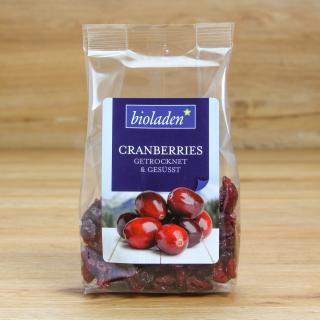 Cranberries, getrocknet und gesüßt 100 g
