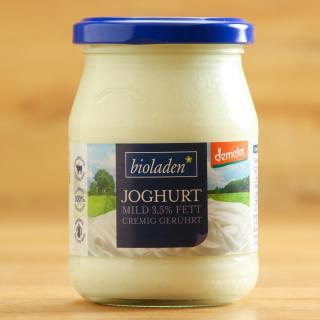 Demeter Joghurt mild 3,5% 250g Glas