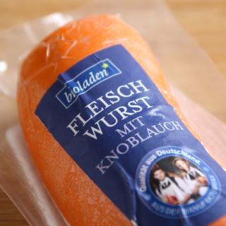 Fleischwurst mit Knoblauch 150 g