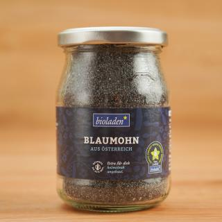 b* Blaumohn im Glas
