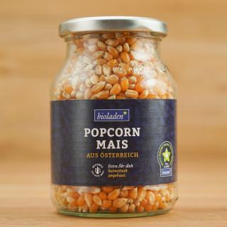 b*Popcorn Mais im Glas