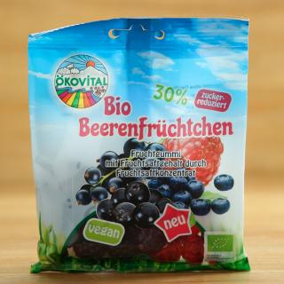 Beerenfrüchtchen, 30% Zucker reduziert